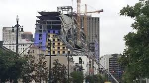 Hotel under construction collapses in New Orleans