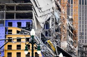 United States One dead and three missing in the collapse of a Hard Rock Hotel under construction in New Orleans