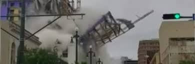 New Orleans, a Hard Rock hotel collapses: a dead man